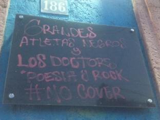 Grandes Atletas Negros en Bar Zeppelin Querétaro